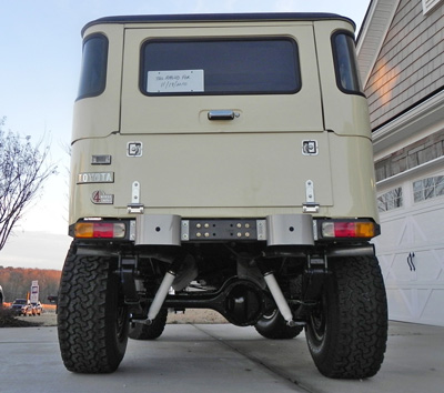 Aluminum Tailgate Fold Down Smooth No Storage Fj40 45