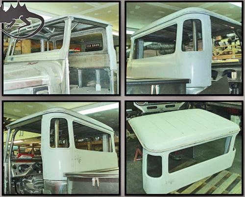 Fiberglass Hardtop Fj45 Toyota Land Cruiser Btb Products