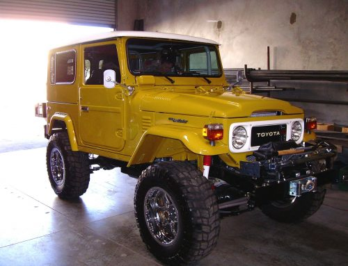 LAND CRUISER RESTORATION – 1979 FJ40 DELANEY