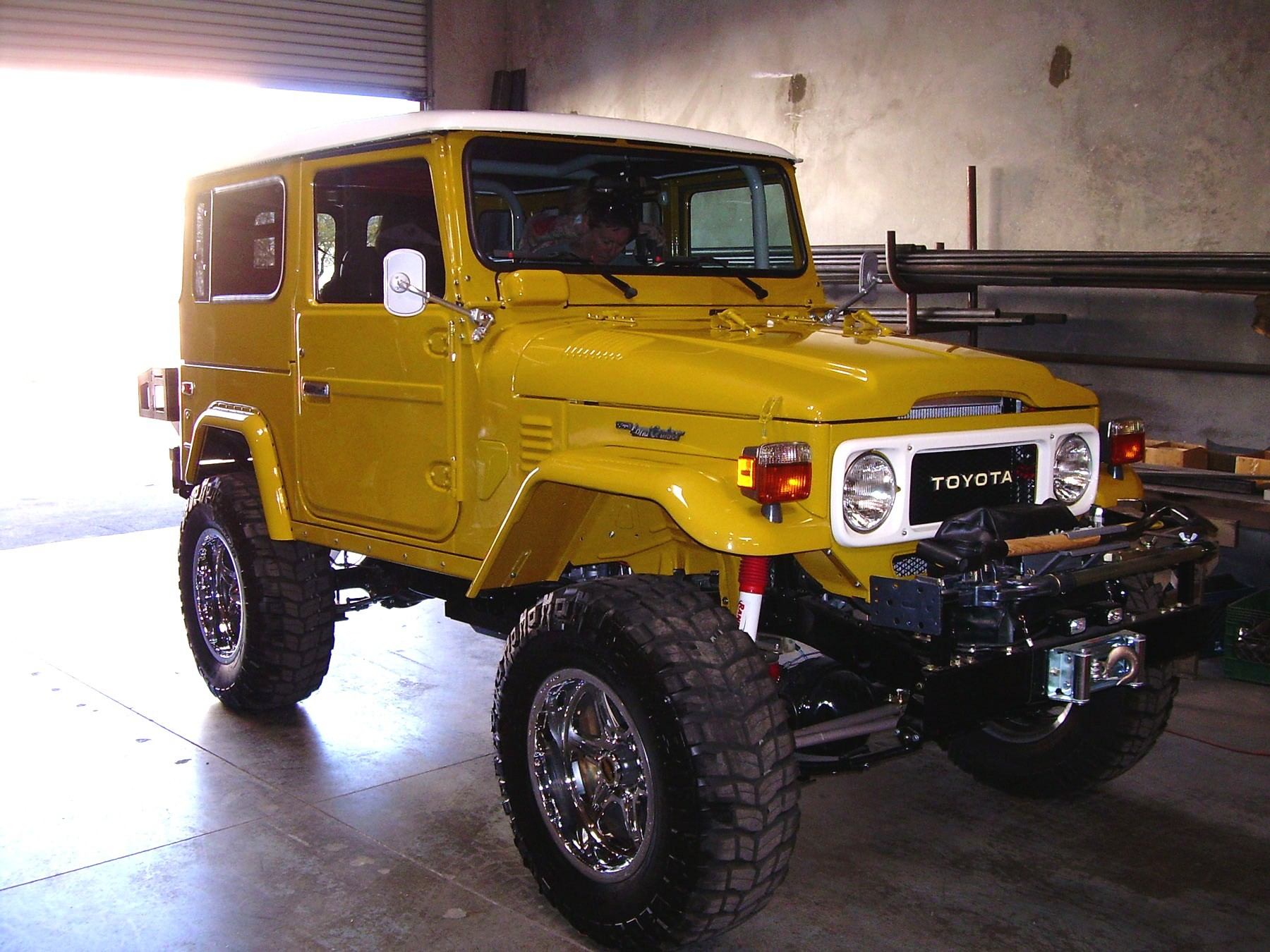 Land Cruiser Restoration – 1979 FJ40 - BTB Products - Land