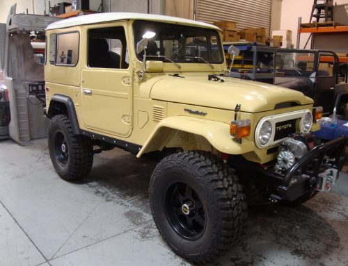 Land Cruiser Restoration – 1977 FJ40