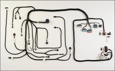 FJ40 FJ60 FJ80 Wiring Harness GM VORTEC 5.7L V8 SFI with 4L60E or 4L80E Wiring Harness Transmission on