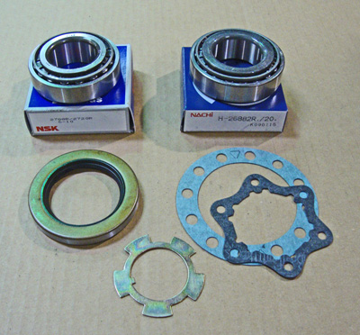 FJ40 FJ55 WHEEL BEARING KIT DRUM FRONT 1960, 1961, 1962, 1963, 1964, 1965,  1966, 1967, 1968, 1969, 1970, 1971, 1972, 1973, 1974, 1975 SKU: WBKL1-PR