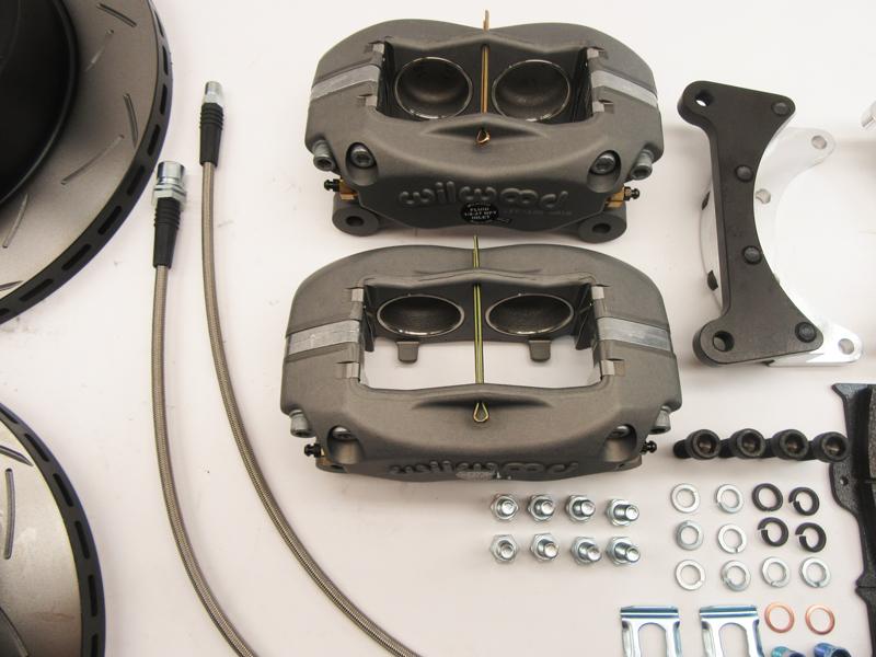 FJ40 FJ55 Disc Brake Conversion Kit Front 1968, 1969, 1970 SKU:  43512-FT40KITEN
