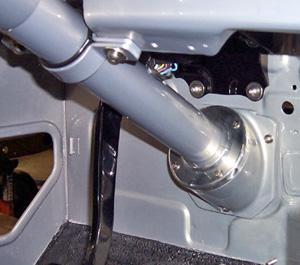 FJ40 Steering Column Floor Mount 2-1/4
