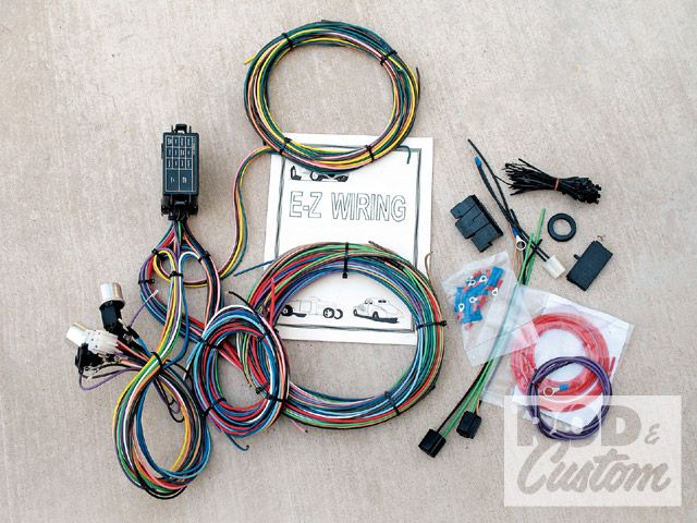 [QMVU_8575]  FJ40 FJ60 FJ80 Wiring Harness V8 21-Circuit Non Keyed Column EZ - BTB  Products - Land Cruiser Restoration and Parts   21 Ez Circuits Wiring Harness      BTB Products