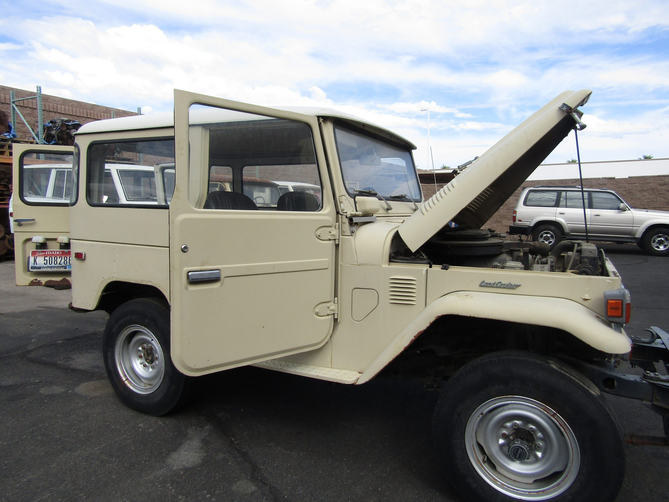1976 FJ40 Ready for Restoration or DIY —– Frame Up or Partial Conversion Available